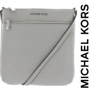 MK Riley Pebble Leather Crossbody